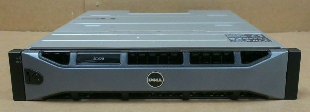 Dell Compellent SC420 Expansion Enclosure 24x 1.8TB 10K SAS HDD 2x EMM 2x PSU